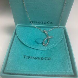 Tiffany & Co. Elsa Peretti Letter J Pendant